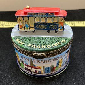 Cute San Francisco Trinket Jewelry Box
